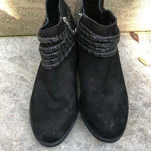 BCBGeneration Shoes - BCBGeneration Clayton Leather Heeled Booties 7